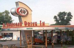 A&W, used to ride my bike there and order outside :)