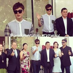 Lee Min Ho - Bench Tower Ribbon Cutting Ceremony - 06.07.2013