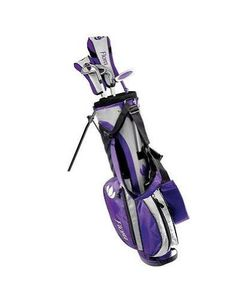 Intech Flora Junior Girls Golf Club Set (Right-Handed, Age NEW a girls junior combo in two age groups with up to date clubs and bag in the ever popular Best Golf Club Sets, Best Golf Clubs, Golf Clubs For Sale, Girls Golf Clubs, Junior Golf Clubs, Ladies Golf, Golf Clubs For Beginners, Black Friday Toy Deals, Golf Card Game