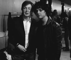 Billie and Paul Mccartney at the Grammys OMG