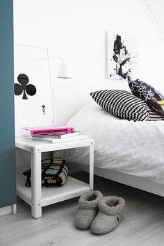 Bedside table. By Smäm.
