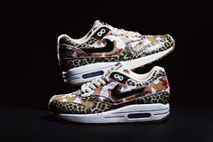 If I could only pull these off | atmos x Nike Air Max 1 Animal Camo Pack | Hypebeast