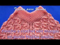 Free Crochet, Knit Crochet, Crochet Videos, Shawl, Crochet Patterns, Blanket, Knitting, Crafts, Youtube