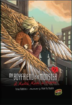 """This volume, the eighth in the My Boyfriend Is a Monster series, is a bit different from the others. Oh, like the other books, it's still completely predictable in the development of its romance, from the """"he's different, which makes him attractive"""" introduction to the eventual end of the relationship (because really, human girls and supernatural beings? not meant to last)...For one thing, though, the """"monster"""" here isn't what we traditionally think of with that word. Gabriel is an angel."""