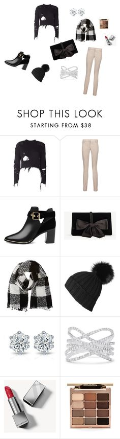 """""""Stylish Winter Kit!"""" by arielsmith-2 ❤ liked on Polyvore featuring adidas Originals, Brunello Cucinelli, Ted Baker, Ann Taylor, Barneys New York, Black, Effy Jewelry, Burberry and Stila"""