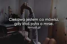 TeMysli.pl - Inspirujące myśli, cytaty, demotywatory, teksty, ekartki, sentencje Missing You Quotes, Sad Pictures, Happy Photos, Romantic Photos, Sad Life, Sad Stories, More Than Words, True Quotes, Be Yourself Quotes