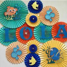 Finding Nemo Themed Backdrop, Finding Nemo Party Ideas, Finding Dory Party Ideas, Finding Nemo Birthday, Finding Nemo Banner, Finding Dory Banner, Backdrop