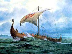 viking dragon Sailing