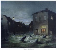 Michael Sowa - Sharks of Suburbia