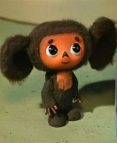 Cheburashka. I can sing the entire theme song in Russian. I'm cool like that.
