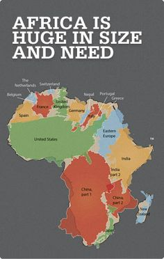Africa is Huge in Size and Need - Mercy Ships