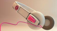 Headphone Concept design on Behance