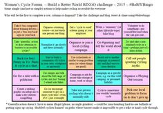Build a better world challenge card - click for printable version