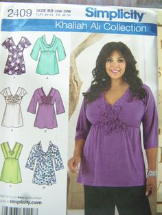 Simplicity 2409 Women's Sewing Pattern  Misses' by WitsEndDesign
