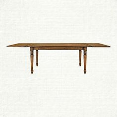 """Sylvie 70""""-110"""" x 38"""" Extension Dining Table in Milled Pine"""