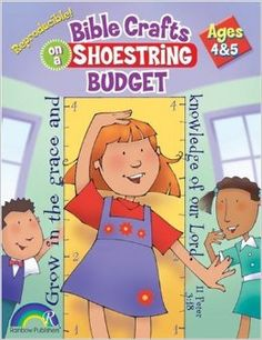 BIBLE CRAFTS ON A SHOESTRING BUDGET -- AGES 4 & 5: Barbara Lockwood: 9780937282090: Amazon.com: Books