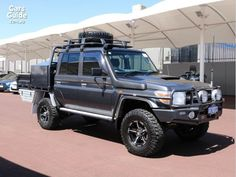 2015 TOYOTA LANDCRUISER GXL (4X4) For Sale $92,988 Manual Ute / Tray | CarsGuide