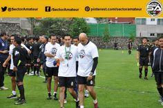 Mauricio Morales y César Ramos se preparan para las sesiones.