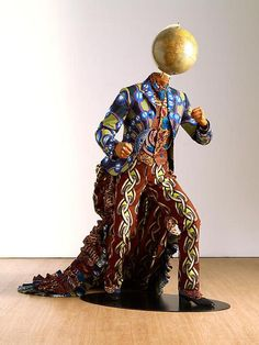 Yinka Shonibare, Earth from a series of the four elements, 2010