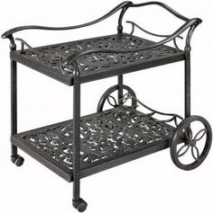 Fiesta Beverage Cart - Serving Pieces - Outdoor Entertaining - Outdoor | HomeDecorators.com