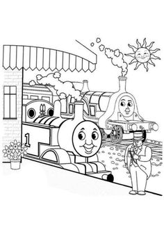 Thomas the Train Coloring Sheets. Thomas the Train Party Ideas on Frugal Coupon Living. #FrugalCouponLiving #ThomastheTrain #trainparty #trainpartyideas Trains Birthday Party, Train Party, Toy Story Birthday, Toy Story Party, Car Party, Pirate Party, Party Fun, 4th Birthday, Train Coloring Pages