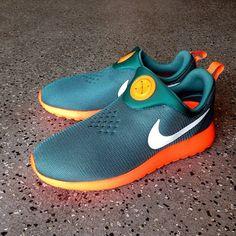 pretty nice 05a7b e5ff6 Nike Roshe Run Slip On - Teal   Orange (Lato 2014) - Zajawka