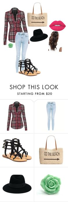 """""""Untitled #76"""" by goodgirl8 ❤ liked on Polyvore featuring Mystique, Style & Co., Maison Michel and Lime Crime"""