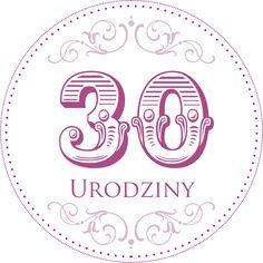42. Cyferki urodzinowe II 50th Birthday, Happy Birthday, Digital Stamps, Card Templates, Cardmaking, Free Printables, Origami, Decoupage, Clip Art
