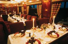 The Royal Scotsman dining car