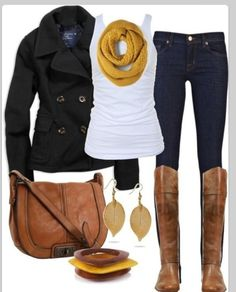 Fall but kind of winter outfit