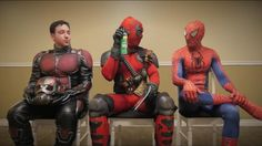 Now I can die in peace having known that Ive seen Deadpool holding a can of Raid while next to Spider-Man and Ant-Man