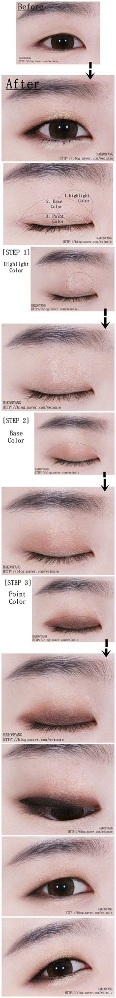 Best Ideas For Makeup Tutorials Picture Description For monolids! - #Makeup https://glamfashion.net/beauty/make-up/best-ideas-for-makeup-tutorials-for-monolids-2/