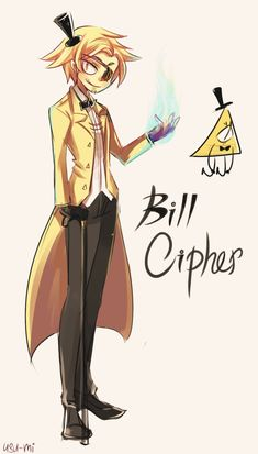 Gravity Falls: Bill Cipher by Usu-mi on DeviantArt
