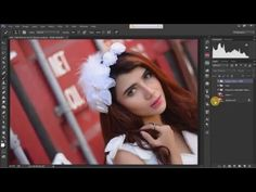 'Julie Sagita' Speed Art Retouch | Photoshop CC - YouTube