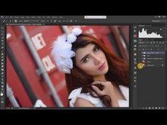 'Julie Sagita' Speed Art Retouch | Photoshop CC - YouTube