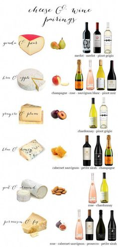 Cheese and Wine Pairings #wineandcheese