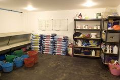 horse stable and separate building for feed - Google Search