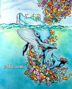 #doodleinvasion #florestaencantada #jardimsecreto #oceanoperdido… --> For…