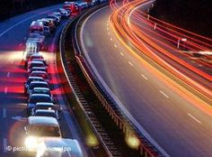 Getting Around - An Autobahn at night ~ #Germany