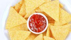 Domácí nachos chipsy z BIO kukuřičné krupice