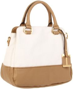 Amazon.com: Ivanka Trump Arabella IT602 Satchel,White,One Size: Shoes $150.00