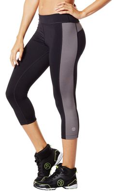 Global Z Fitness - Zumba Dance Fitness Crop It Legging Capri Pants - Black, $24.99 (http://www.globalzfitness.com/zumba-dance-fitness-crop-it-legging-capri-pants-black/)