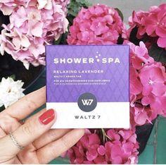 "Showertabs ""Relaxing Lavender"" by WALTZ 7 Lavender, Shower, Rain Shower Heads, Showers"
