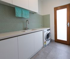 Important to consider all elements of the design to suit the intended functionality of the area. Laundry Design, Perth Western Australia, Washing Machine, Home Appliances, Suit, House Appliances, Washer, Appliances, Suits