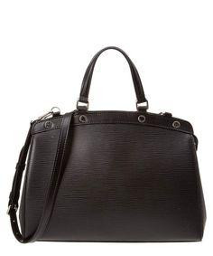 879a2e1ef01a LOUIS VUITTON Louis Vuitton Noir Epi Leather Brea Mm .  louisvuitton  bags   leather  hand bags  lining