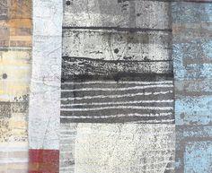 Shelley Rhodes | Textile Study Group Textile Fiber Art, Textile Artists, Gelli Printing, Screen Printing, Mixed Media Collage, Collage Art, Collages, Textiles Sketchbook, Encaustic Art