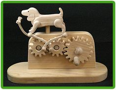 Trick toy dog and bone