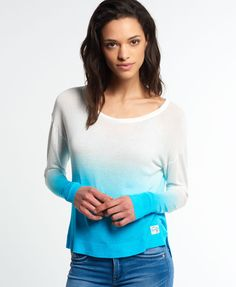 Superdry Sarasota Dip Dye Knit Top