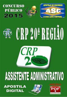 Apostila Concurso Crp 20 Regiao Assistente Administrativo 2015