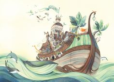 Alive as Always: Illustrators Arise: Nathalie Ragondet